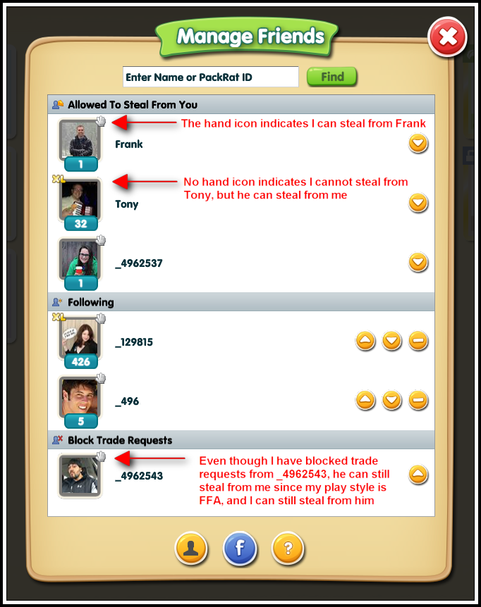 Manage Friends – HookBang